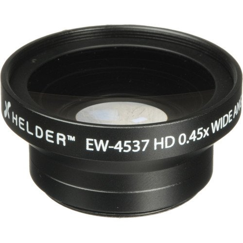 Helder EW-4537 37mm HD 0.45x Wide Angle Conversion Lens by Helder