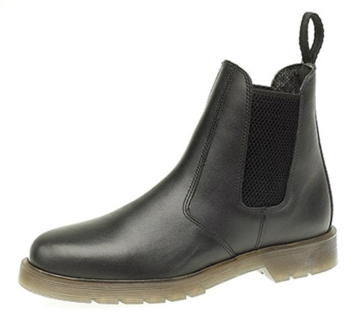 Dealer Jodhpur UK Brown Finish Black Ladies Or Chelsea Black 2 Boots Leather Waxy Sizes 6 UxwwCEOqt