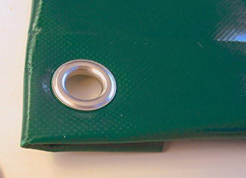 TUTTOPERGOLE Telo PVC Professionale Universale Verde CM 300X200