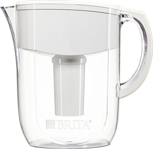 Brita Pitcher (Brita 10 Cup Everyday BPA Free Water Pitcher with 1 Filter,)