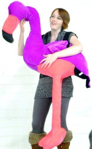 Amazon Com Giant Stuffed Flamingo Four And A Half Feet Tall