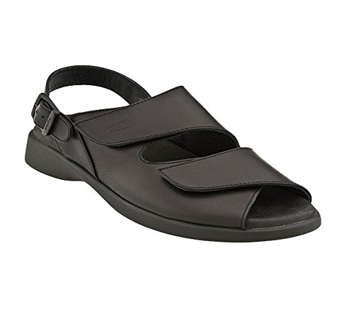 37 M EU-Black Smooth Leather
