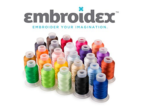 Embroidex Embroidery Machine Starter Kit - Everything Needed to Do Machine Embroidery Plus Bonus...