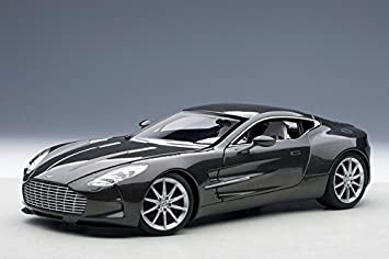 Merveilleux Aston Martin One 77 Spirit Grey 1/18 By Autoart 70242