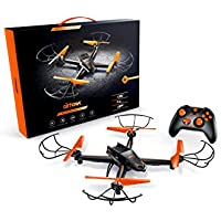 Airhawk M-13 Quadcopter Stunt Drone+ 360 Degree Flips + Headless Mode + NO FAA Registration + Long Flight Time + Includes Spare Set Of Propellers - Great For Beginner And Expert Pilots