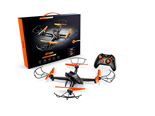 Airhawk M-13 Quadcopter Stunt Drone+ 360 Degree Flips + Headless Mode + NO FAA Registration + Long Flight Time + Includes Spare Set Of Propellers – Great For Beginner And Expert Pilots