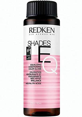 Redken Shades EQ 09V Platinum Ice Color Gloss for Women, 2 Ounce