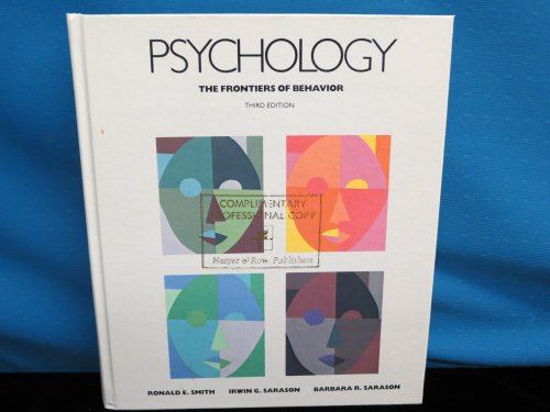Psychology: The Frontiers of Behavior