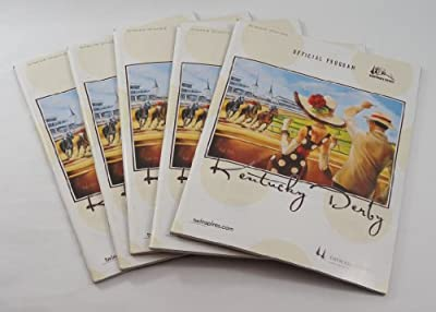 Lot of (5) 2008 Kentucky Derby Official Programs 134th Churchill Downs