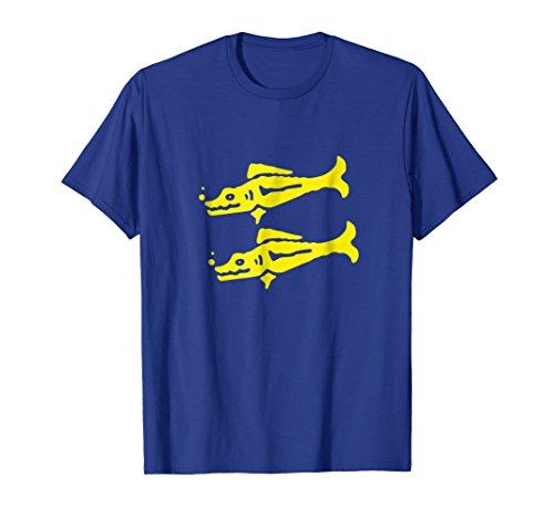 Blue Legend T-shirt - Blue Barracudas Temple Team 90s Kids Nick Game Show T-Shirt