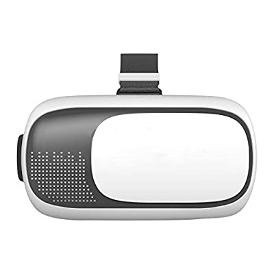 Wearable 3D virtual reality Headset Glasses, Better than Cardboard