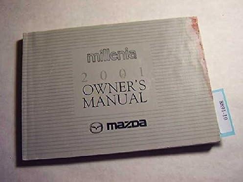 2001 mazda millenia owners manual mazda amazon com books rh amazon com