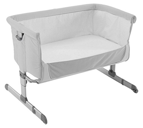 Chicco Next 2 Me - Cuna, color plata