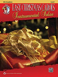 Alfred Easy Christmas Carols Instrumental Solos Alto Sax Book & CD (Christmas Tenor Trumpet)