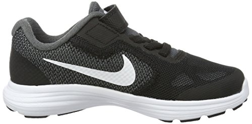 Mixte Pr Baskets Grey Nike Pltnm Gris Enfant Basses Dark White 3 Black Revolution fwfSPI