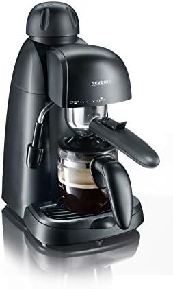 Severin KA 5978 Libera installazione Macchina per espresso 0.22L 4tazze Nero macchina per caffè