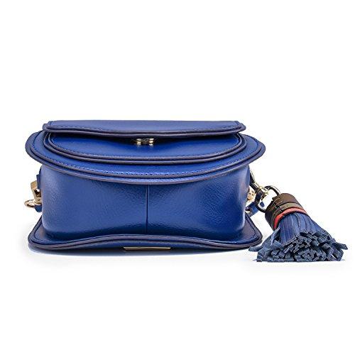 Mini Tassel Crossbody Lightweight blue Navy Bag with d7dO8
