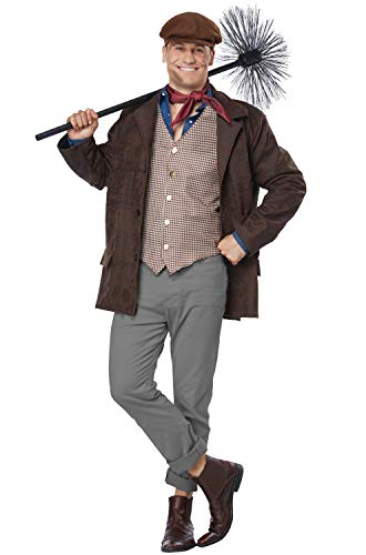 California Costumes Men's Chimney Sweep - Adult Costume Adult Costume, -Brown, Large/Extra Large]()