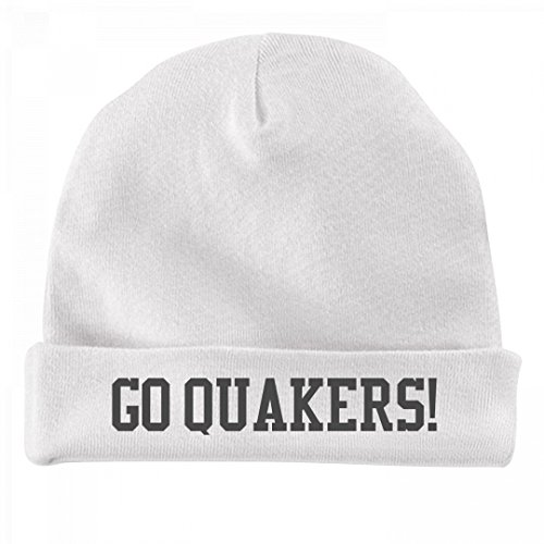 FUNNYSHIRTS.ORG Baby Fan Hat Go Quakers!: Infant Baby Hat