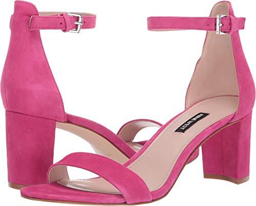 - Nine West Women's Pruce Block Heeled Sandal Bright Fuchsia 9 M US