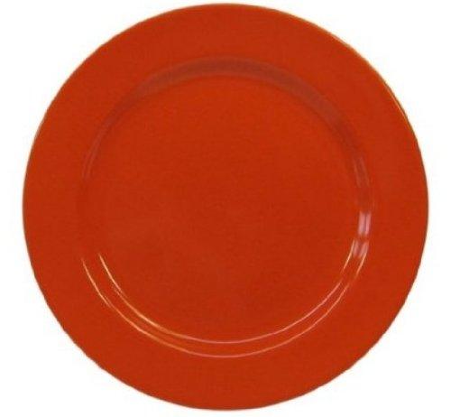Orange Accent Plate - Waechtersbach Fun Factory II Orange Salad Plates, Set of 4