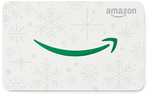 Large Product Image of Amazon.com Gift Card in a Green Snowman Tag