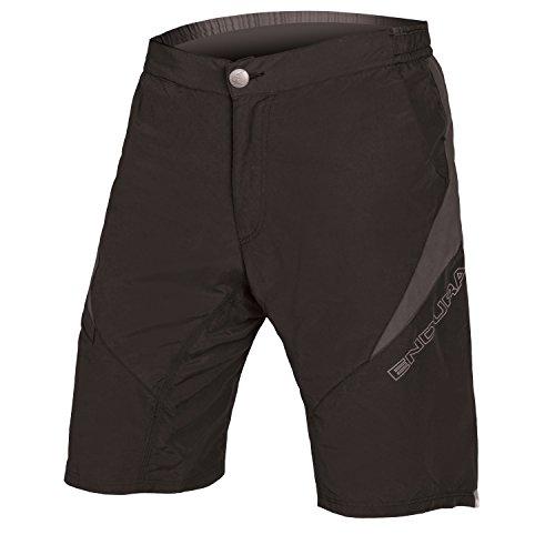 (Endura Cairn Baggy Cycling Short Black, Large)