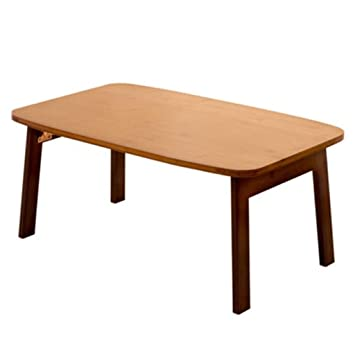 WZHFOLDINGTABLE Portable Folding Table Bamboo Table With Bay Window Small  Coffee Table Folding Table Small Table