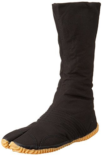 Marugo Tabi boots Ninja Shoes Jikatabi (Outdoor tabi) MATSURI JOG 12 Size: 28.0 cm (US size 10), Color: Black ()