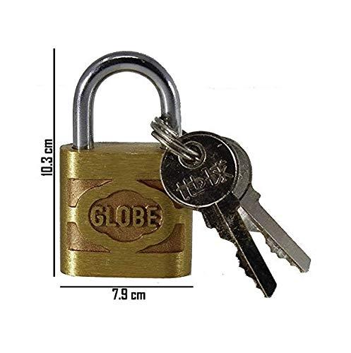 hardened Padlock and 10 keys