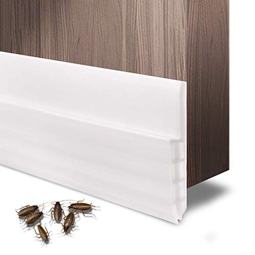 - Under Door Seal Strip, Under Door Draft Stopper Door Sweep, Premium Quality Weather Stripping for Cracks and Gaps 2
