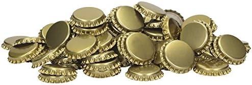 1000 chapas de corcho de 29 mm doradas – con inserto espumado – hasta 4 bar chapas de corcho ...