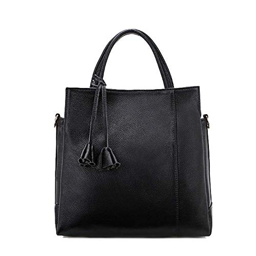 Donna Minimalista Borse Casual Classic Da Atmospheric Chic Glamour Black Fashion Hw5B1wq