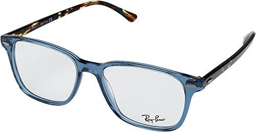 Ray-Ban RX7119 Eyeglasses Shiny Trasparent Blue - Ray Eyeglass Prescription Ban Frames