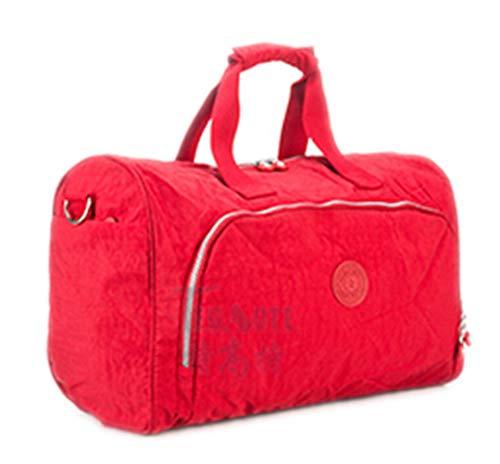 Borse Di Resistenti Tote Da Capienza Black Impermeabili Red 280 Delle Bolsas Viaggio Nylon Grande Casuali Solidi Donne xnqSg