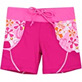 Tuga Girls Swim Short (UPF 50+), Misty Pink, 12/18 mos