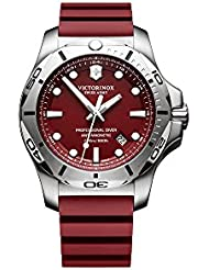 Victorinox V241735 INOX Mens Watches, Red/Red, 45mm