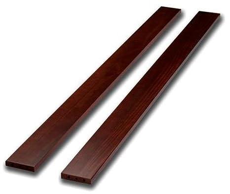Sorelle Adult Bed Rails and Slats Espresso