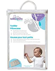 Baby Works Bamboo Toddler Pillowcase, Off-White