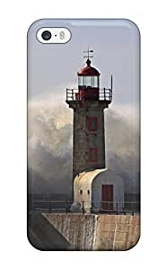 DvHAwkv3800wXlOb Snap On Case Cover Skin For Iphone 5/5s(lighthouse)