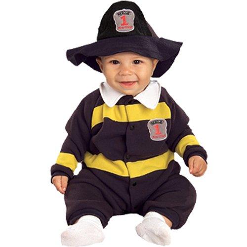 Firefighter EZ-On Romper - Newborn ()