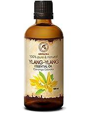 Ylang-ylang olie - etherische olie 100ml, 100% puur & natuurlijk, essentiële olie - aromatherapie - geurolie - geurverspreider - ontspanning - toevoegen aan bad & cosmetica - massage - wellness - aroma lamp of elektrische diffuser