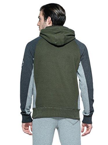 Uomo Puma Felpe Abbigliamento Verde Camo XiTuOkZP