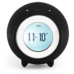 Tocky Runaway Alarm Clock with MP3 - Black