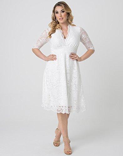 59f95bef742 Kiyonna Women s Plus Size Wedding Belle Dress