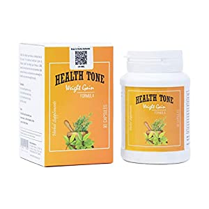 ZIKS Diagnosis Health Care Beauty Tone Herbal Weight Gainer Capsules Gain in 30 Day's