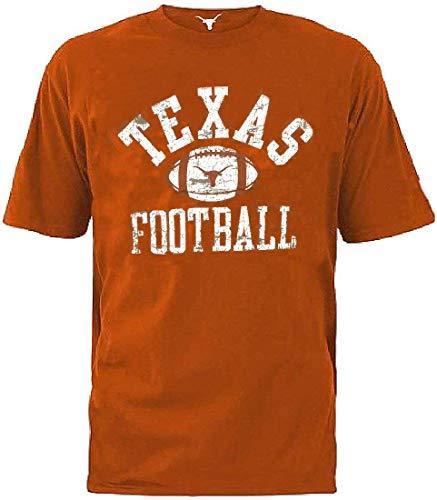 289c apparel Texas Longhorns Mens Tri-Blend Webster Short Sleeve T Shirt (XX-Lage) ()