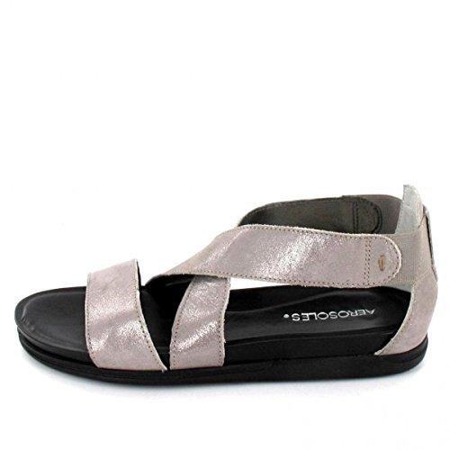 Aerosoles Sandalette, Farbe: Grau