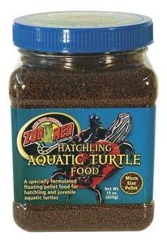 Hatchling Aquatic Turtle Dry Food Micro Pellet 15oz