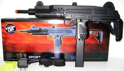 d91 airsoft full size mac 11 style smg(Airsoft Gun) for sale  Delivered anywhere in USA